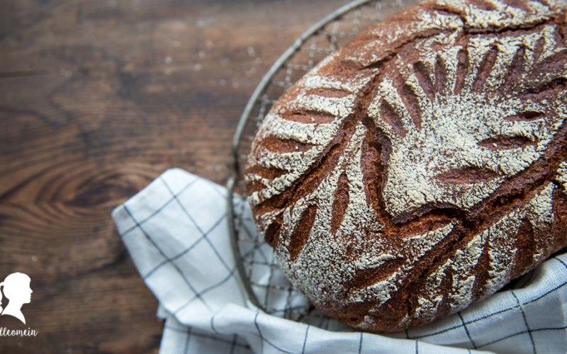 Dinkelbrot mit Joghurt - Joghurtkruste - Joghurtbrot - schnelles Brot - Roggenmehl und Dinkelmehl | inkl. Thermomix® Rezept | relleomein.de