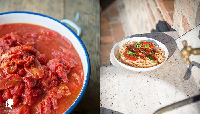 Einkochwoche – Tomatensoße einkochen