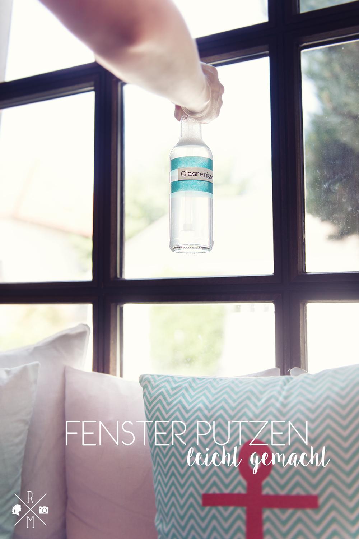 Fenster putzen leicht gemacht - selbst gemachter Glasreiniger - Kärcher Fenstersauger VW5 getestet | relleomein.de