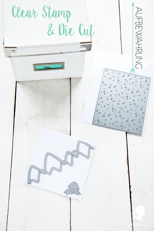 Frühjahrsputz 2017 - Clear Stamp Aufbewahrung - Clear Stamps und Die Cuts - Ordnung - Stempelaufbewahrung   relleomein.de