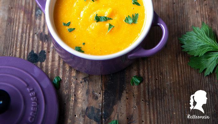 Schnelle Gemüsesuppe ohne Milch - veganes Rezept - Familienrezept für schnelle Gemüsesuppe | relleomein.de #thermomix #kinderrezept #vegan