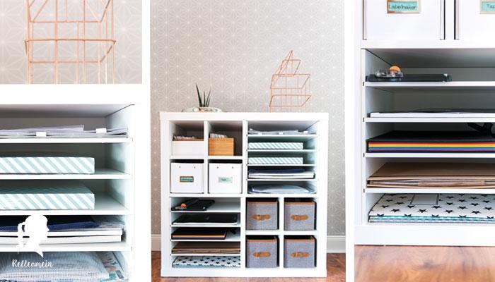 Ikea Kallax Regal Hack mit New Swedish Design Realeinsätzen | relleomein.de