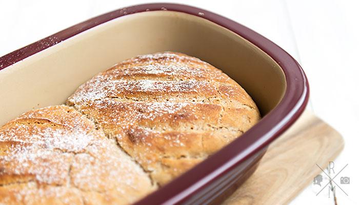 Roggen-Kartoffelbrot aus dem Zaubermeister von The Pampered Chef   relleomein.de #thermomix #rezept #brot #backen