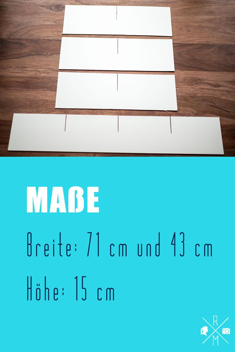 Ordnung in Schubladen durch Schubladentrenner - selbst gemachte Schubladeneinteilung | relleomein.de #ordnung #organize #diy