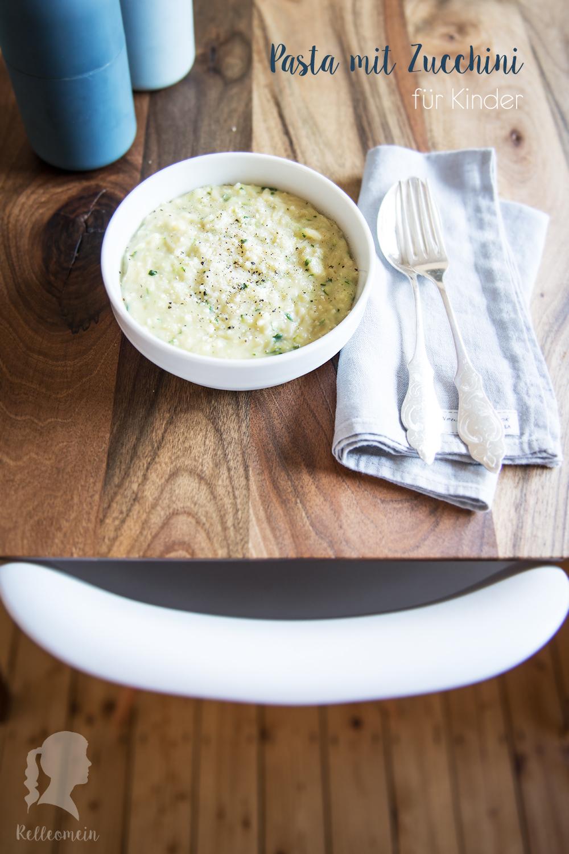 Nudeln mit Zucchini ein Kindergericht | relleomein.de #thermomix #rezept