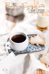 Pumpkin Spice Latte - ein schnelles und fast gesundes Rezept   relleomein.de #pumpkinspicelatte #rezept #youtube #coffeecreamer