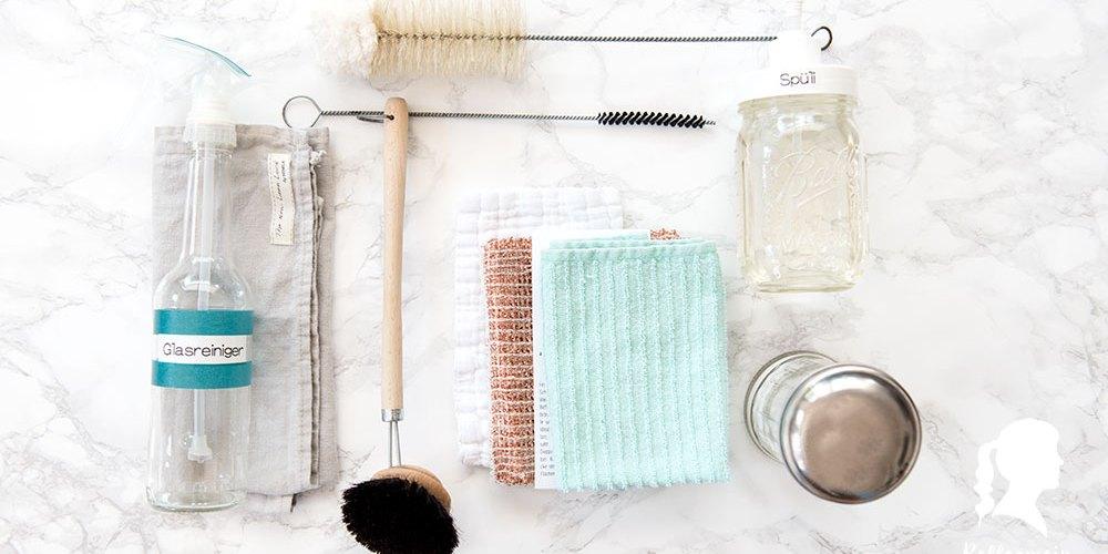 Selbst gemachte Putzmittel für die Küche