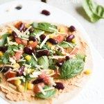 Rezept für vegane Quesadilla mit Hummus   relleomein.de