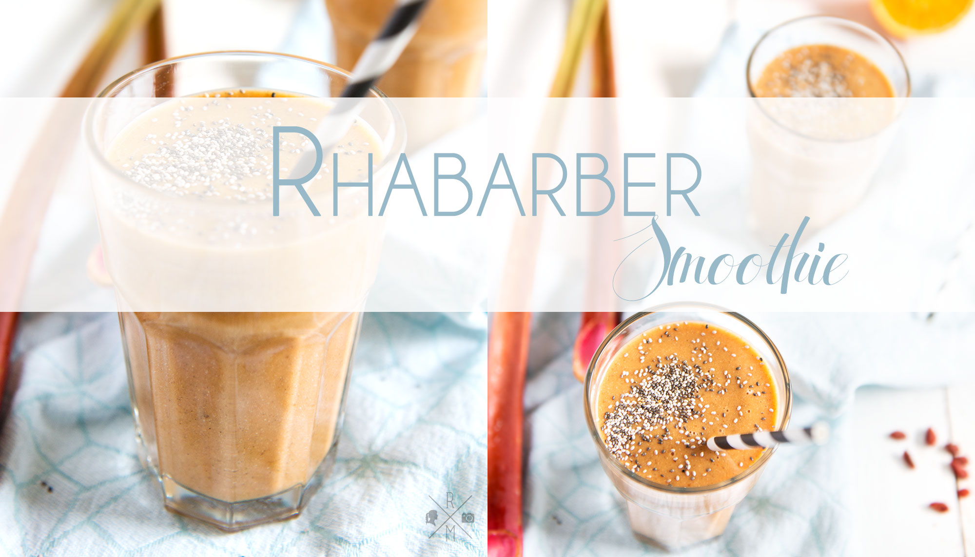 Rhabarber Smoothie (Thermomix Variante)