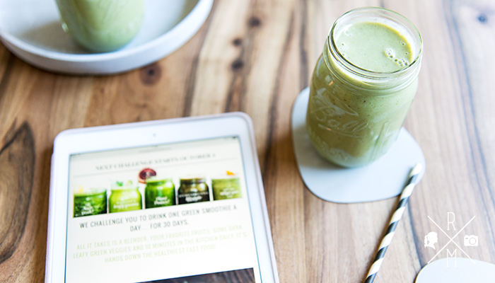 Simple Green Smoothies - 30 Tage Challenge - Dan's famous apple pie #greensmoothie