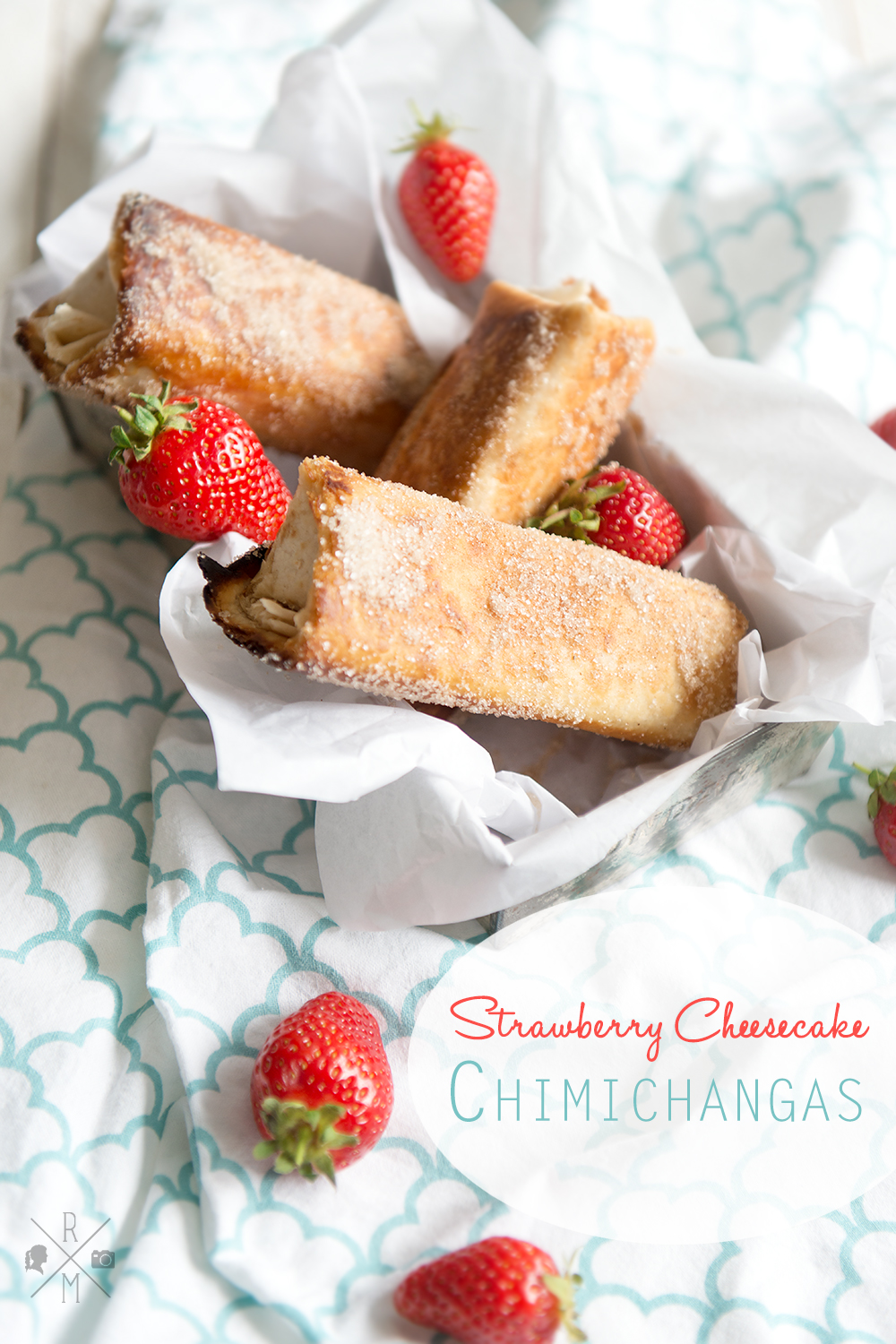 strawberry cheesecake chimichangas inkl thermomix. Black Bedroom Furniture Sets. Home Design Ideas