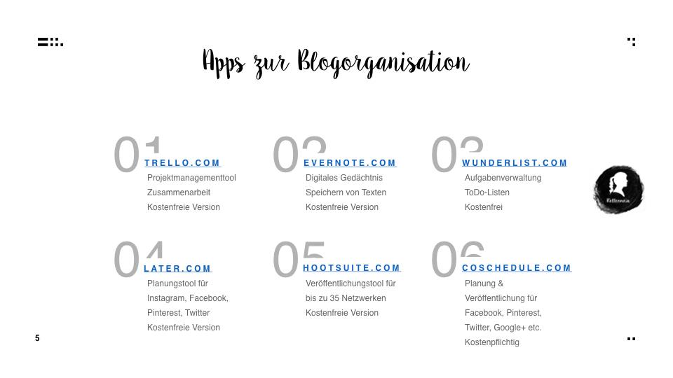 Zeit ist jetzt - Strukturiert und organisiert bloggen - Apps zur Blogorganisation| relleomein.de