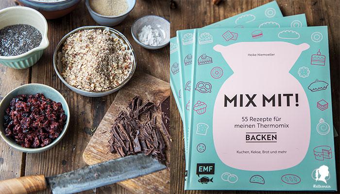 Rezept für vegane Kekse mit oder ohne Thermomix | relleomein.de