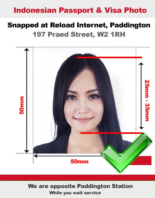 Passport Size Photo Indonesia : passport, photo, indonesia, Indonesian, Passport, Photo, Snapped, Paddington,, London