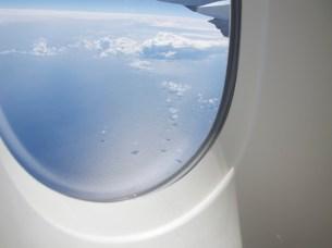 Irgendwo zwischen Sydney und Auckland - bei 30.000 Fuß