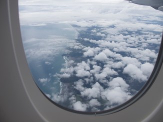 Mein allererster Blick auf Neuseeland :D