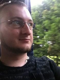 Selfshot im Bus nach Taupo