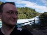 Grandioses Selfpic an den Huka Falls