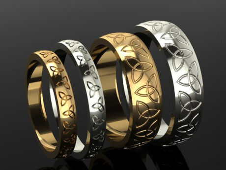 Celtic Couple Rings RELOCATING TO IRELAND