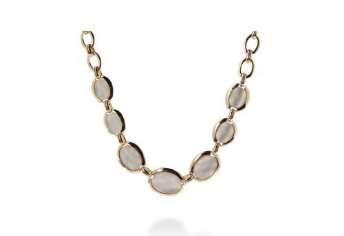 collar gold steel