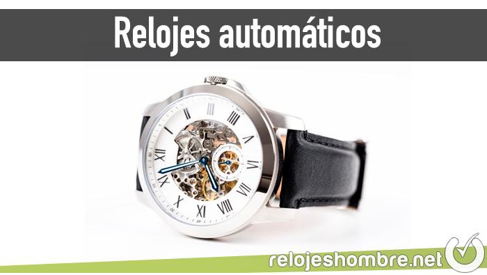 Relojes automáticos hombre