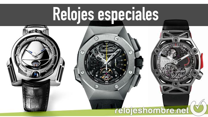 Relojes especiales para hombre