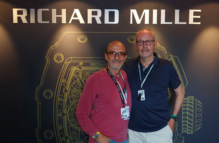 Richard Mille y Dominique Guenat
