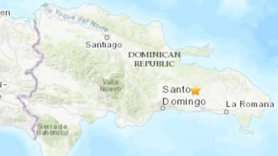 Photo of Temblor de 4.2 grados sacude la parte Este de República Dominicana