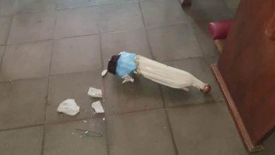 Photo of Quiebran imágenes y pisotean hostias en profanación de templo en Nicaragua