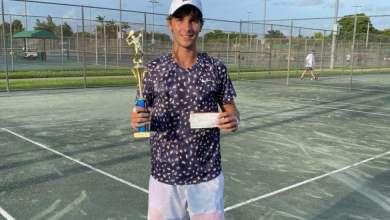 Photo of Peter Bertran se corona campeón del Plantation Open; gana tercer evento seguido