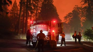 Photo of Dispositivo pirotécnico usado en una fiesta familiar provoca un incendio forestal de unas 2.900 hectáreas en California