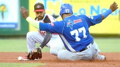 Photo of Licey contrata lanzadores importados Heath Fillmyer y Kent Emanuel