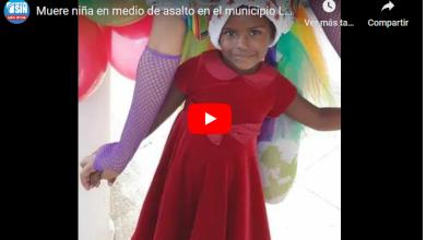 Photo of Por un celular delincuentes matan a niña en Los Alcarrizos
