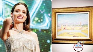 Photo of Angelina Jolie vende un cuadro de Churchill por 9,6 millones de euros