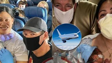 Photo of Mujer da a luz en un avión, no sabía que estaba embarazada