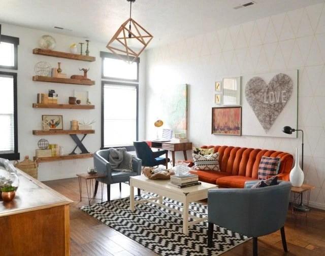 Mobilier au design vintage Scandinave  Relooker meubles