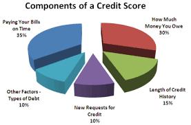Credit score components