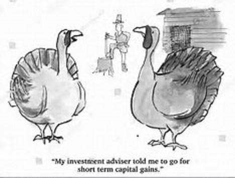 Thanksgiving finance cartoon