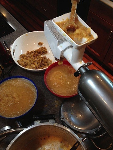How To Make Applesauce With KitchenAid Attachments