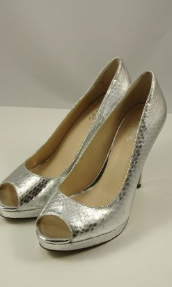 """Wittner Silver """"Maxime"""" pump  37"""