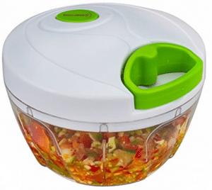 Molinillo de alimentos manual Brieftons, vegetal de mano potente y compacto