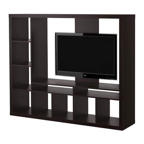 """Ikea Expedit Entertainment Center Tv Soporte para televisores de pantalla plana de hasta 55 """""""