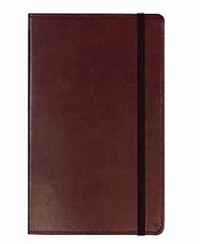Insignias de C.R. Gibson MJ5-4792 Cuero genuino encuadernado en diario