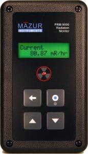 Medidor Mazur Instruments PRM-9000 Geiger