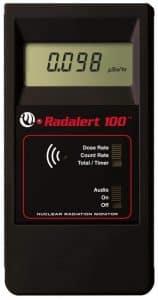 Geiger Radalert Contador internacional de instrumentos de detección de radiación 100X