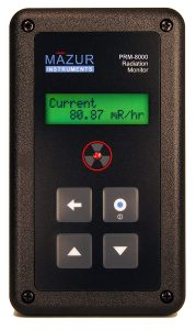 Medidor portátil Geiger Mazur Instruments PRM-8000