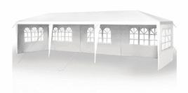 10 x 30 & # 39; Fiesta de bodas al aire libre Gazebo al aire libre Pabellón Rugged Pavilion Tienda de patio al aire libre