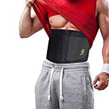 El mejor tamaño de entrenador de cintura y cinturón Ab Sweat Belt para hombres y mujeres. (Nuevo y mejorado) Ayuda a refinar tu vientre y caderas más fácilmente que nunca antes con un cinturón de sauna adelgazante. 4 tamaños, 2 colores y bolsa de transporte.