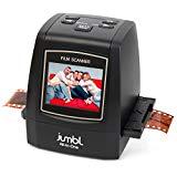 Escáner de película y diapositivas todo en uno Jumbl de 22MP con adaptadores Speed-Load para negativos y diapositivas de 35 mm, 110, 126, películas Super 8