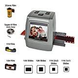 Escáner de película de alta resolución todo en uno Magnífico de 22MP, convierte películas de 35 mm / 126KPK / 110 / Super 8, diapositivas, negativos en fotos digitales, Vibrant 2.4